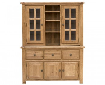 Claudio Oak Large Display Unit