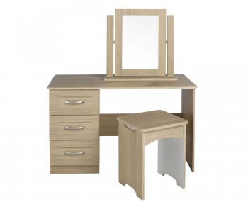Alonzo Oak Dressing Table