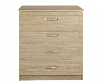 Alonzo Oak 4 Drawer Chest