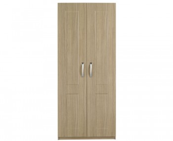 Alonzo Oak 2 Door Wardrobe