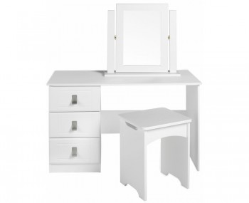 Sigrid Single White Dressing Table