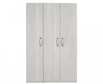 Alonzo White Avola 3 Door Wardrobe