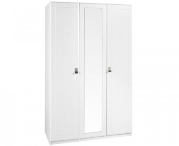 Sigrid White 3 Door Tall Wardrobe