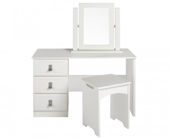 Sigrid Single Cream Dressing Table