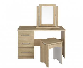 Marcello Single Oak Dressing Table