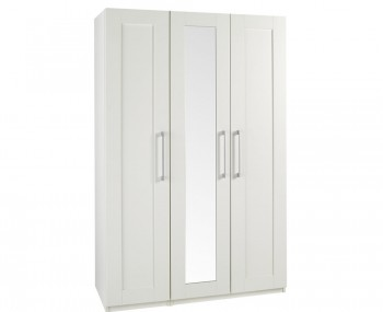 Marcello Cream 3 Door Tall Wardrobe