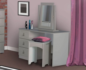 Sigrid Single Cashmere Dressing Table