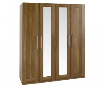 Marcello Walnut 4 Tall Wardrobe