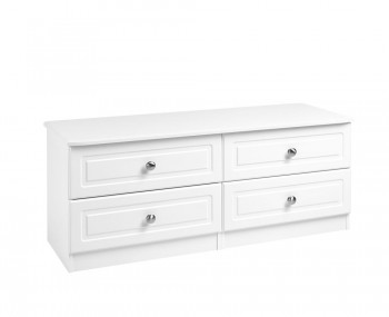 Toliara White 4 Drawer Bed Box Chest