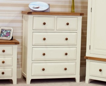Marne Two-Tone 3+2 Drawer Chest
