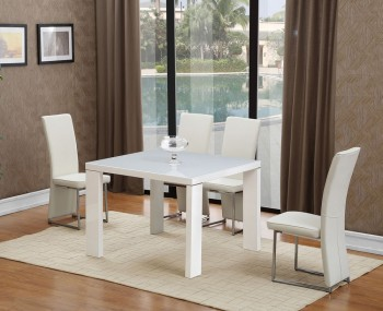 Langton Square Glass Dining Table and Chairs