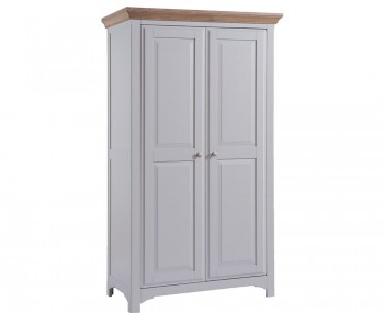 Everette Two-Tone 2 Door Wardrobe