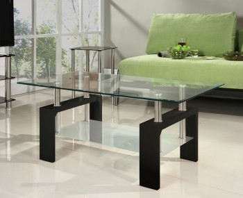 Speight Black Glass Coffee Table