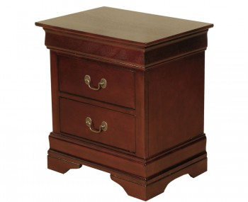 Claremont Cherry 2 Drawer Nightstand
