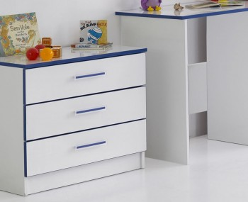 Kiddi Blue Chest Of Drawers