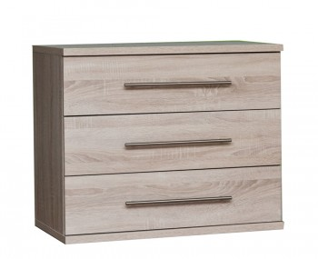 Henderson Light Oak 3 Drawer Chest