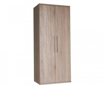 Henderson Light Oak 2 Door Wardrobe