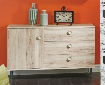 Bardot Oak and Kaschmir Small Sideboard