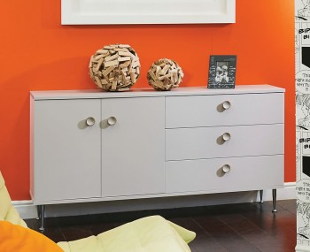Bardot Kaschmir and White Large Sideboard