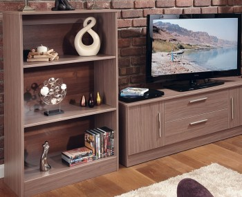 Wexford Walnut Bookcase