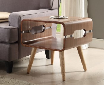 Trezela Walnut Lamp Table