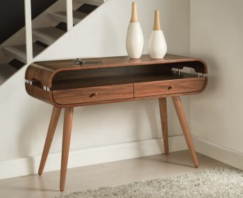 Trezela Walnut Console Table