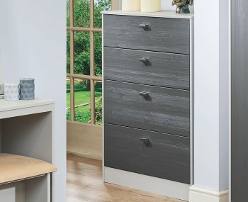 Jeremiah Slate and Kaschmir 4 Drawer Chest
