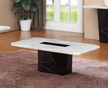 Houston Marble Effect Coffee Table