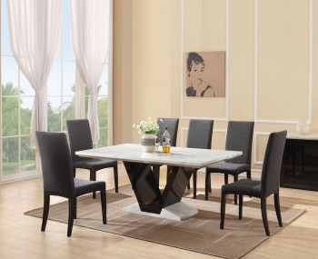 Gomez Marble Dining Table and Chairs