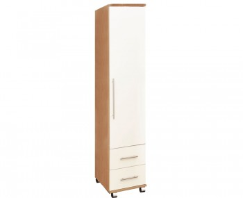 Watson High Gloss 1 Door 2 Drawer Wardrobe