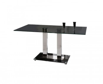 Martina Black Glass Dining Table *Special Offer*