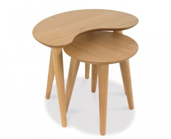 Orbit Oak Nest of Tables *Special Offer*