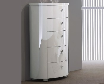 Chest Of Drawers Bedroom Storage High Gloss Oak Walnut More