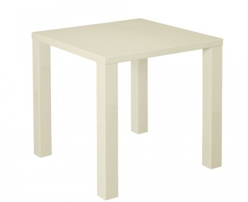 Puro Cream High Gloss Kitchen Table