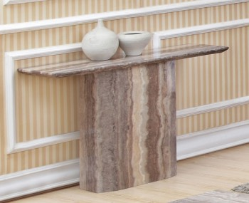 Thurston Marble Effect Console Table