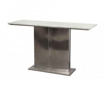 Exeter Marble and Steel Console Table