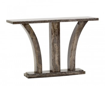 Monterosso Pearl Grey Marble Console Table