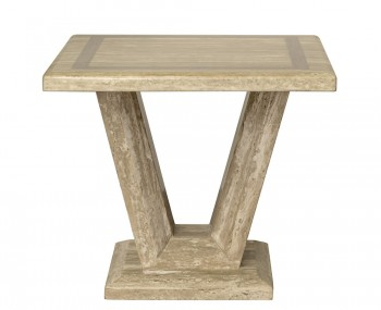 Granton Marble Lamp Table