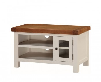 Walden Stone White and Oak TV Unit