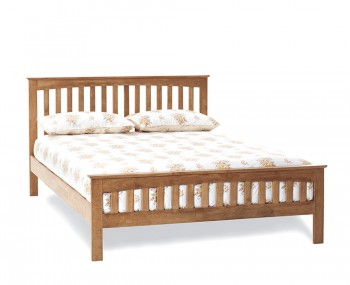 Bonetti Honey Oak Bed Frame