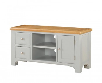 Marlstone Grey and Oak TV Unit