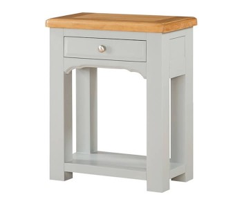 Marlstone Grey and Oak Small Console Table