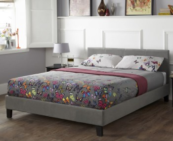 Avella Steel Fabric Bed Frame