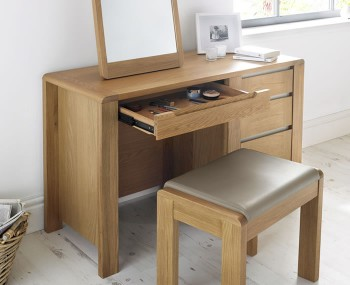 Superior Sherman Oak Dressing Table