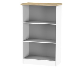 Catalonia Porcelain and Bordeaux Oak Bookcase