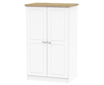 Catalonia Porcelain and Bordeaux Oak Childrens Wardrobe