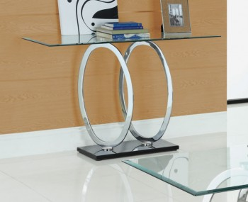 Athens Clear Glass Console Table *Special Offer*