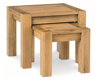 Lyon Oak Nest of Tables