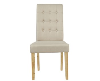 Mayfield Beige Linen Dining Chair