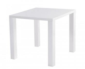 Nikita White High Gloss Kitchen Table *Special Offer*
